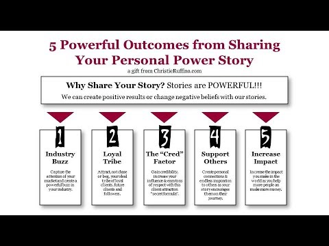 The Irresistibility of Your Personal Power Story | Christie Ruffino
