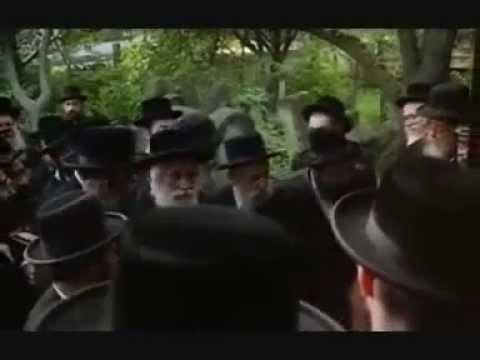 "Previous Vizhnitzer Rebbe zt""l at Tziyun of Reb Mendele M ..."