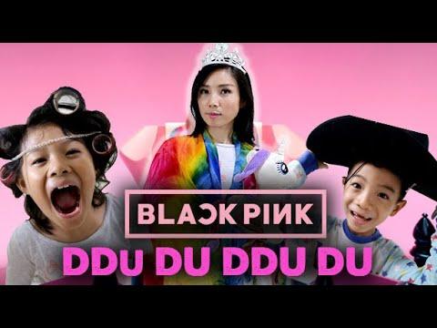SUPER FUNNY BLACKPINK - 뚜두뚜두 (DDU-DU DDU-DU) Song Parody in Pyjamas by CnX Adventurers-Square Up
