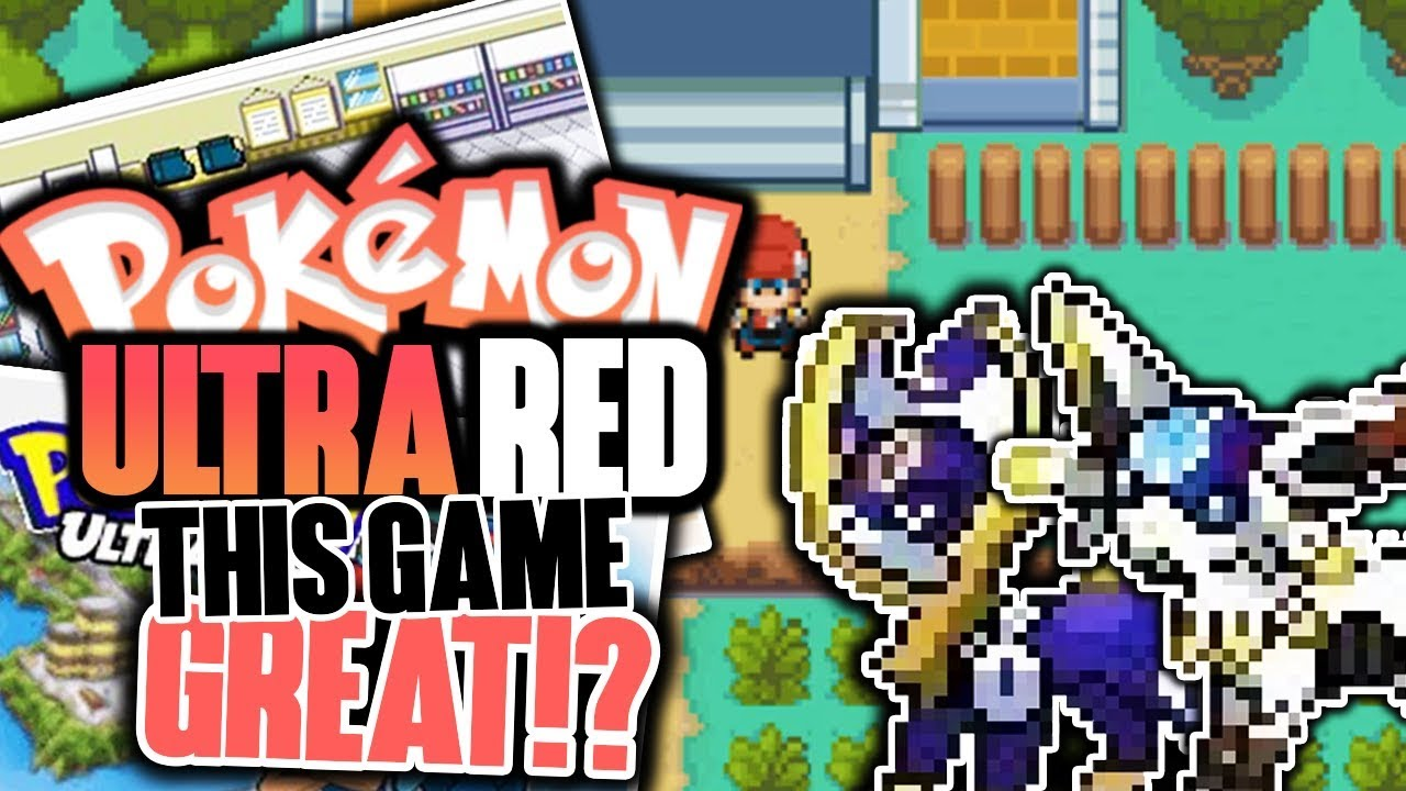 ULTRA FORMS & FINISHED ROM HACK!? Pokémon Ultra Red ... Ruffledrowlit