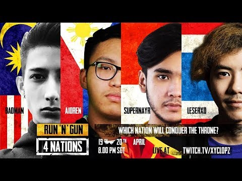 AKSI MEMUKAU DARI AEROWOLF ADS SAMPAI CHICKEN|RUN N' GUN 4 NATIONS #2 | PUBG By Xyclopz