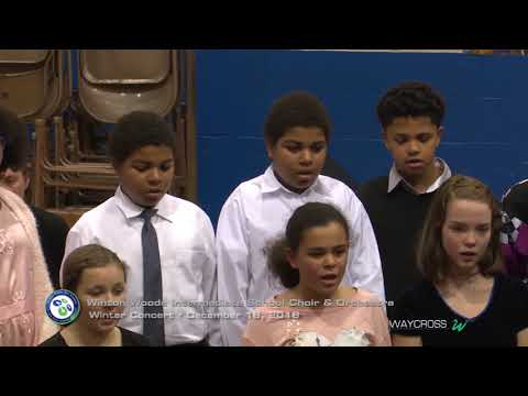 Winton Woods Intermediate School Choir and Orchestra Concert of December 18, 2018