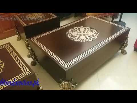 Tables Versace Design Available For Sale At Traditions Furniture Islamabad