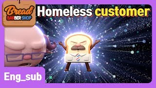 BreadBarbershop | EP20 | Homeless Customer | Eng-sub | animation/kids/toy/dessert/cartoon