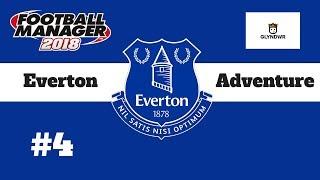 FM18 - Everton Adventure #4 Scenes against Liverpool! - Football Manager 2018