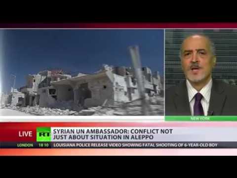 مقابلة الدكتور بشار الجعفري مع قناة RT