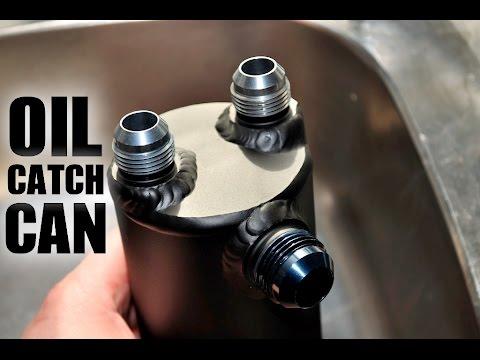 Midget race car oil tank vents