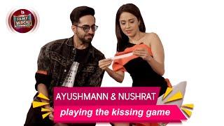 Gambar cover The kissing game with Ayushmann & Nushrat | Dreamgirl | Mirchi Rochie
