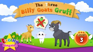 The Three Billy Goats Gruff- Fairy tale - English Stories (Reading Books)