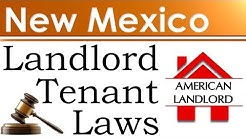 New Mexico Landlord Tenant Laws | American Landlord