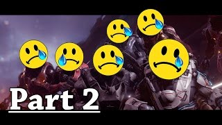 Why is Halo 5's Campaign SO Bad!? (Part 2) Action Scenes & Cardboard Characters