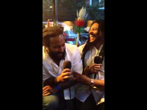 KyMani Marley interview in newyork