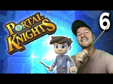 Let's Play Portal Knights! Episode 6: Fighting Enemies and Traveling through the Portal!