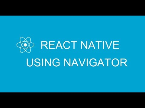 #4 How to change screen using Navigator in React Native