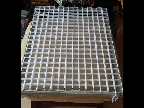 HOW TO MAKE A POM POM BLANKET LOOM FRAME includes sizes
