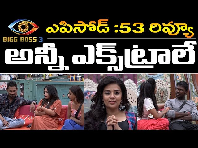 Bigg Boss Telugu 3 | Episode 53 Review | Punarnavi Reaction | Punishment | Day 52 Highlights | PDTV