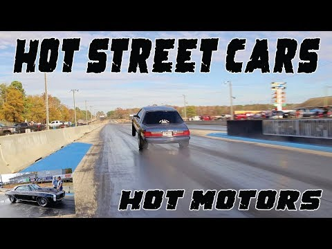 THERE WERE SOME HOT MOTORS IN THESE NITROUS STREET CARS AND THEY MEANT BUSINESS