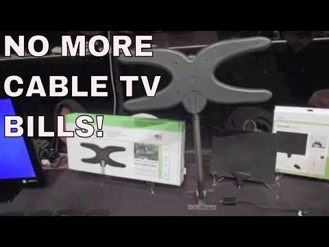 I got rid of cable tv: MOHU house antenna setup, hulu and apple tv: cut the cord!