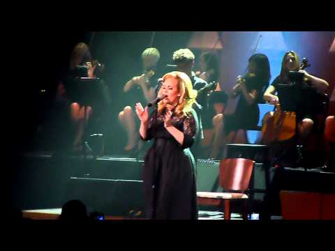 """Adele Royal Albert Hall """" Set Fire To The Rain"""" + hilarious story before """" If hadn't been for love"""""""