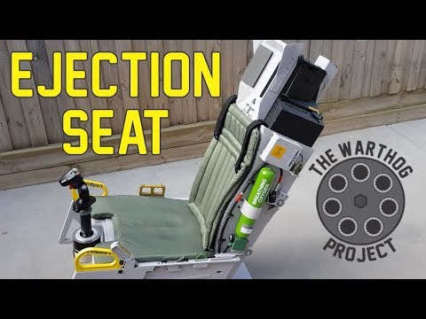 A-10C Flight Simulator - ACES II Ejection Seat