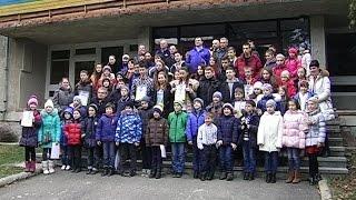 видео ДИВО-ШАШКИ У СНІЖНИХ КАРПАТАХ 2011
