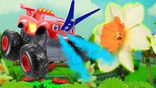 Мультик. Игрушки Вспыш и чудо машинки в видео для детей Чихательная простуда! 🚗🚙 Видео с игрушками