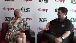 Nana Visitor Interview - Oz Comic Con - March 2014