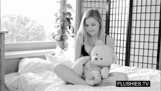 Pornstar Elizabeth interview about plushies and sex with teddy bear