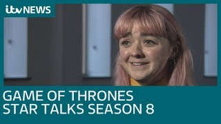 Game of Thrones star Maisie Williams talks season 8, pink hair and more | ITV News