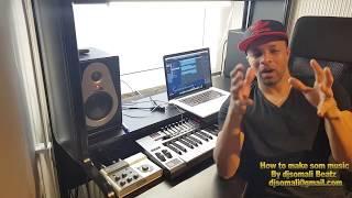 Making Somali music in 10 min How to make Somali music