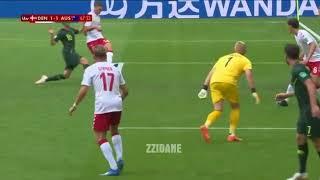Denmark vs Australia 1-1 All Goals & Highlights Extended 2018