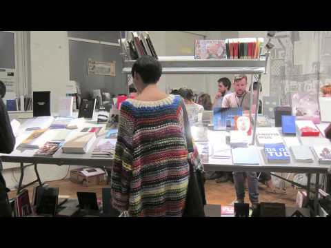 NY Art Book Fair 2012 youtube
