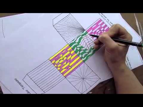 Line Design Op Art : Op art for kids inspired by victor vasarely woo jr