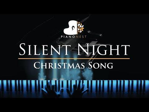 Silent Night - Piano Karaoke / Sing Along Backing Track On G (Original Key)