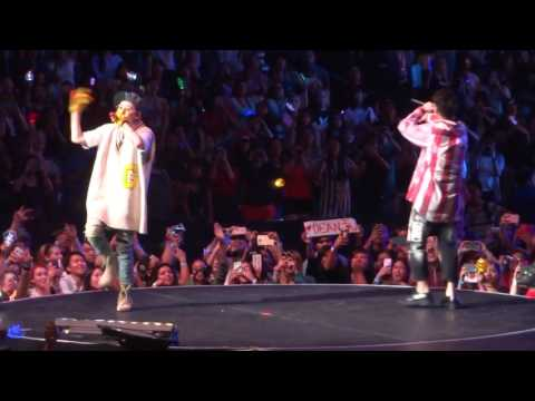[FANCAM] KCON 2016 LA - Zico and Dean - Pour Up
