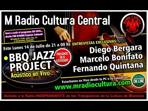 BBQ Jazz Project con Ole Brasil en M Radio Cultura