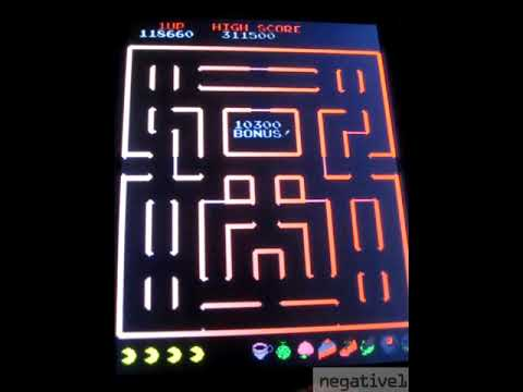 Arcade 1up - Countercade - Super Pac-Man - 394k - Level 36 from negative1
