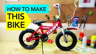 How To Make A Custom Mini Bike