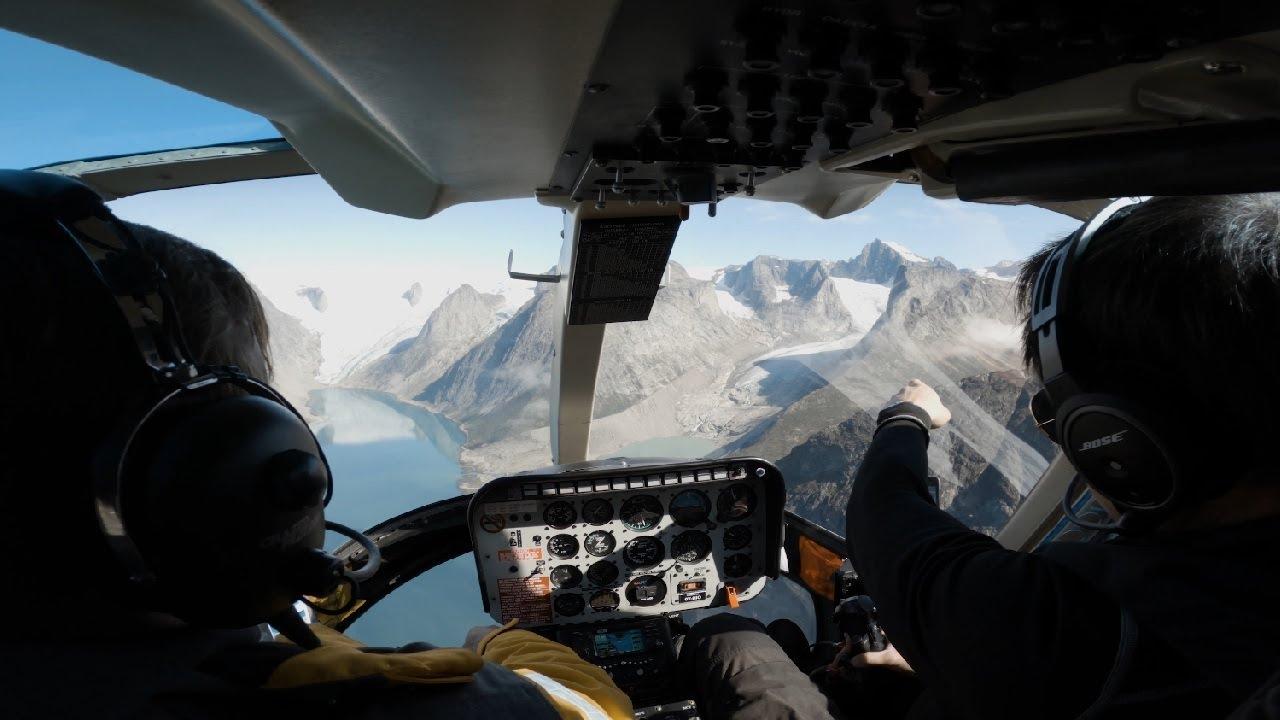 【動画】美しい極地の世界を遊覧飛行