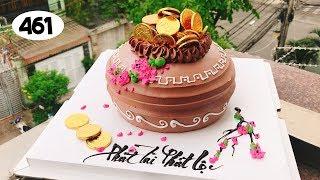 chocolate cake decorating bettercreme (461) Bánh Kem Đơn Giản Đẹp -  Túi Vàng (461)