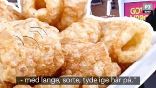 Rigtige danskere spiser flæskesvær med hår | Go' Morgen P3 | DR P3