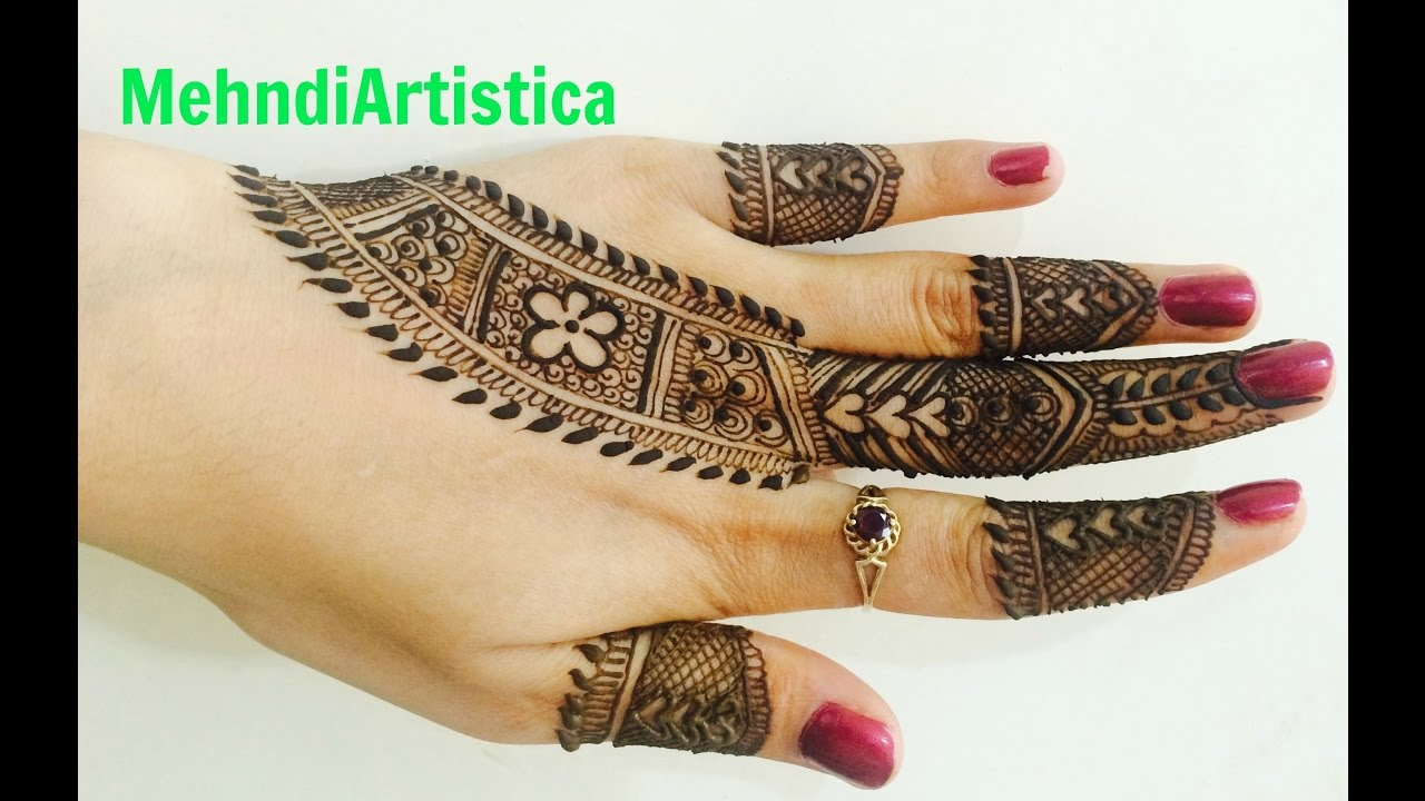 Easy Beautiful Designer Belt Mehndi Designs For Hands|Stunning Latest Mehendi Art By ...