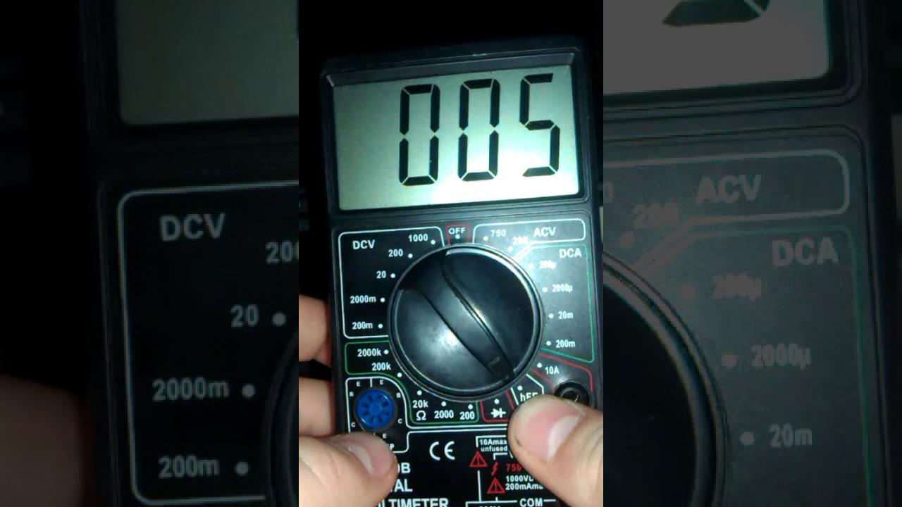 мультиметр dt700b схема