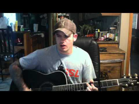 There goes Alan Jackson cover by jaron post