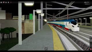 neuer Roblox NEC Amtrak Avalia acela Zug