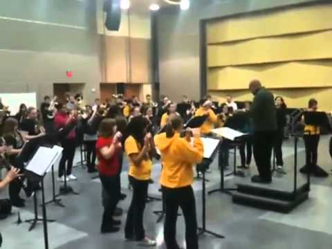 school band plays rage against the machine