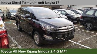 Toyota Kijang Innova 2.4 G M/T [AN140] review - Indonesia