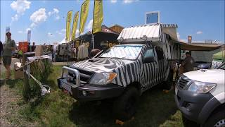 TOYOTA HILUX 7 SAVANNA CAMPER SAFARI EXPEDITION VEHICLE PICK-UP WALKAROUND + INTERIOR