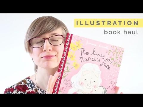 May 2017 Book Haul: Books for Illustrators by Romica Spiegl-Jones