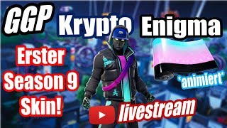 First Season 9 Skin Crypto! | New Animated Paint Enigma! | Arcana Glider! | Fortnite Live